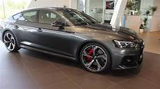 audi rs5 ps new 2019 2020 audi rs5 sportback 450 ps start up revs sound exterior