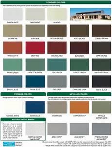 Sheffield Metals Color Chart Berridge Colors Metal Roof Colors Roof Colors