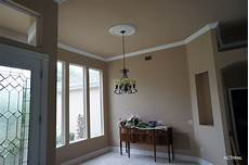 a classic touch painting plantation bay complete interior painting and crown molding installation