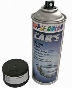 lack spraydose farbe schwarz matt in trabant 601