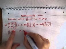 determinante einer nxn matrix berechnen
