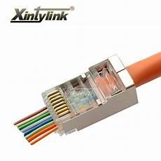 xintylink 1000 pcs ez rj45 connecteur rj45 cat5e cat6