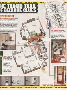 jonbenet ramsey house floor plan map of the ramsey s boulder home main floor jonben 233 t