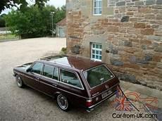 fully restored mercedes w123 wagon estate 230te automatic