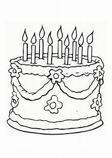 Ausmalbilder Geburtstag Torte Pin Auf Schildis Malvorlagen