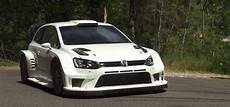 polo wrc 2017 hear the 2017 volkswagen polo r wrc sing the song of its