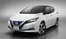 nissan electric 2019 nissan leaf 2019 uk range price and specs for new