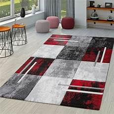 moderner teppich wohnzimmer milano mit konturenschnitt in