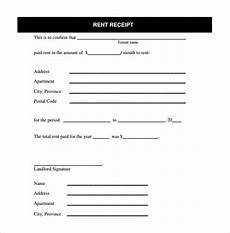 house rent receipt formats 12 free printable word excel pdf
