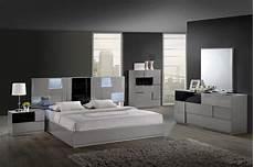 Bedroom Set By Global W Platform Bed 2 Nightstands