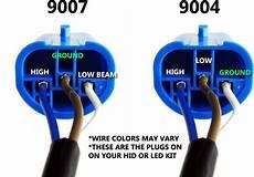 9007 Bulb Wiring Diagram by Installing Hid Mustangforums