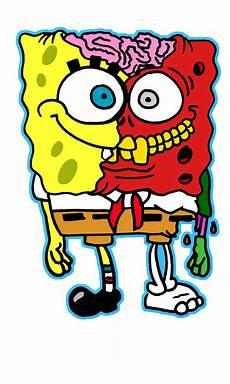 Grafiti Kartun Spongebob Moa Gambar