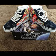 vans limited edition vans shoes limited edition wars yoda aloha poshmark