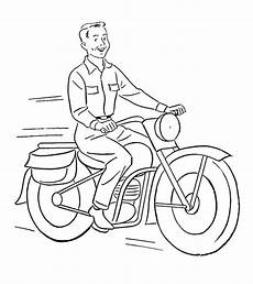 printable motorcycle coloring pages motorcycle