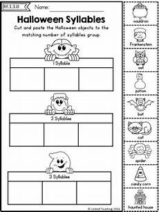 halloween literacy worksheets 1st grade by united