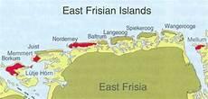 Ostfriesische Inseln Karte - staphylinidae western germany islands