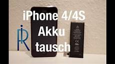 iphone 4 4s akku tauschen wechseln