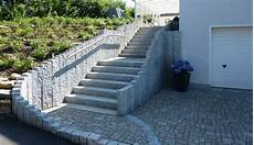 granit steinmauer steinmauer garten gartenmauern