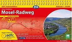 Mosel Radweg Adfc Radreisef 252 Hrer Fahrradkarte
