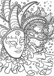 Malvorlagen Kinder Karneval Karneval Ausmalbilder Kinder Venedig Masken Children