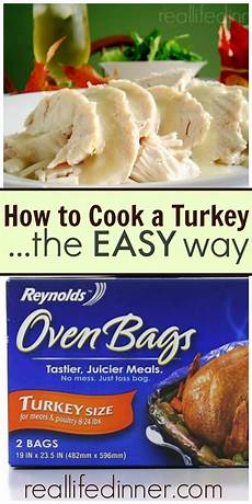 simple quot how to quot tips for cooking a turkey and other