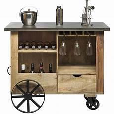 Kitchen Island Cart Australia by 40 Bottle Industrial Wood Iron Bar Trolley Cart Buy