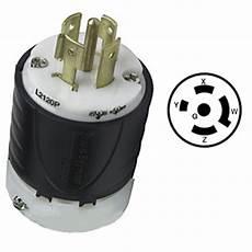 20 120 208vac 4 pole 5 wire electrical plug