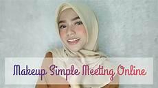 Tutorial Makeup Simple Untuk Meeting