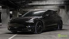 Tesla Model 3 Black | black tesla model 3 gets murdered out youtube