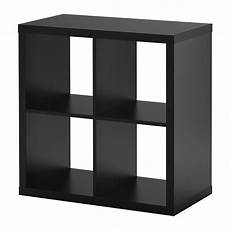ikea etagere kallax shelf unit black brown ikea