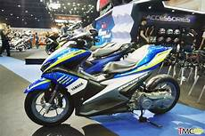 Modifikasi Aerox 155cc by Modifikasi Yamaha Aerox 155 Suspensi Monoshock