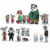Gravity Falls Characters In Zootopia Style