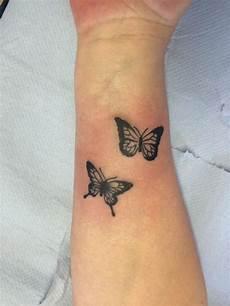 Schmetterling Handgelenk - 74 wonderful wrist butterfly ideas that every