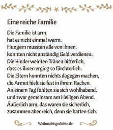 eine reiche familie weihnachtsgedicht zum ausdrucken pdf