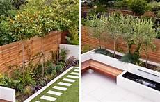 Schmaler Garten Gestalten - thin garden design family garden design
