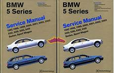 car repair manuals online pdf 2003 bmw 525 spare parts catalogs bmw shop manual service repair book e39 97 03 5 series e 39 ebay