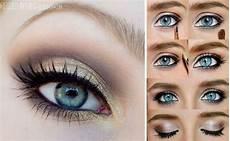 Augen Make Up Blaue Augen - 12 easy step by step makeup tutorials for blue