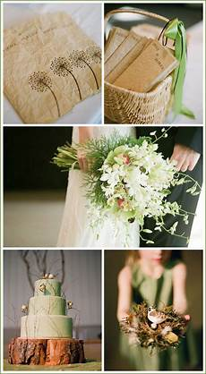 real party brown green wedding the cake blog