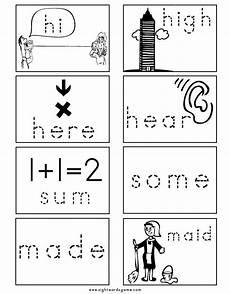 spelling worksheets homophones 22404 homophone flashcard 4 spelling worksheets homophones flashcards