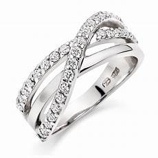 silver wedding rings with diamonds