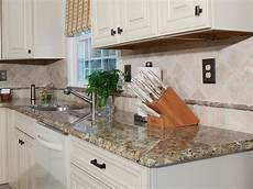 how to install granite backsplash how to install a granite kitchen countertop how tos diy