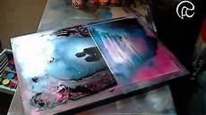 love cave spray paint art by ren 233 schell youtube