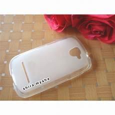 jual silikon soft case evercoss cross a28 clear shira shop shira mysha