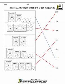 place value worksheets class 2 5055 place value worksheet numbers to 200