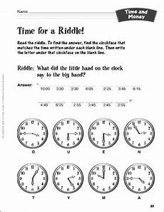 money riddle worksheets 2303 tell the time riddles time and money activity printable lesson plans ideas and number puzzles