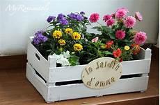 fai da te cassette della frutta idee fai da te per il giardino cajas macetas y caja de