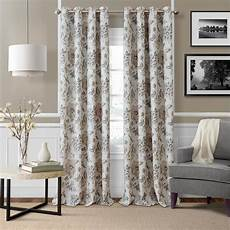 elrene sorrento natural single blackout window curtain panel 52 in w 95 in l 21182nat