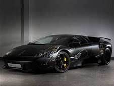 Luxury Lamborghini Cars Black Murcielago