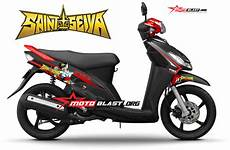 Mio Smile Modif by Modif Striping Yamaha Mio Smile Sporty Black Ala