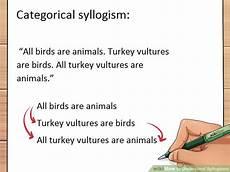 3 ways to understand syllogisms wikihow
